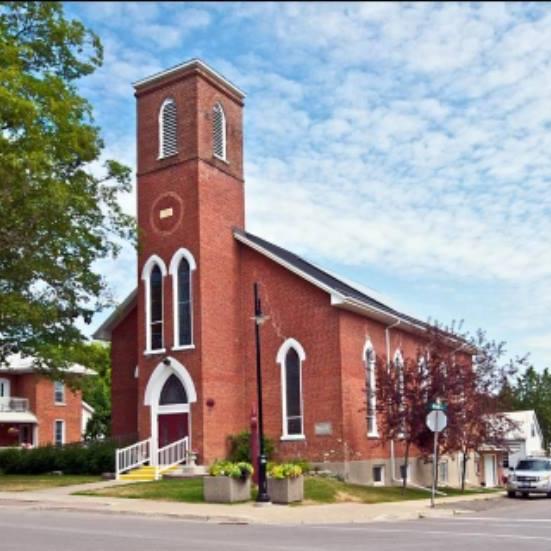St. Pauls United Church in Warkworth